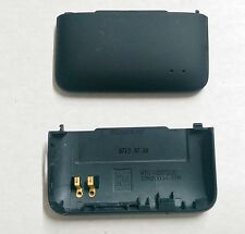 HTC EVO Design 4G OEM Original Battery Door Back Cover - Black - No Logo