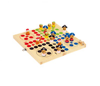 Ludo Wooden Game 'Pirates' Traditional Board Game Fun Entertainment Family Game