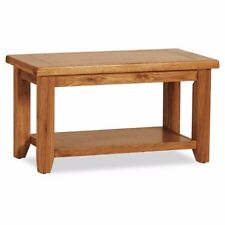 Otago Brown Oak Coffee Table For Living or Dining Room - Free UK Delivery