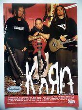 PUBLICITE-ADVERTISING :  Guitares IBANEZ  03/2003 KORN