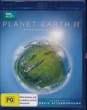 BBC Earth Planet Earth II A New World Revealed Blu-ray NEW David Attenborough