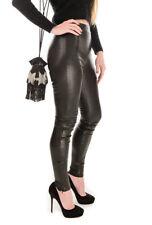 L.K. Bennett Real Leather Stretch Leggings Uk 8 Skinny Trousers Rrp £700 Black