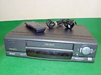 MATSUI VP9606 Video Cassette Recorder VHS Smart VCR Black Quality+Remote