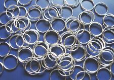 1200  SPLIT RINGS SILVER PLATE 12mm CLASS A QUALITY