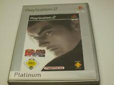 !!! PLAYSTATION PS2 SPIEL Tekken Tag Tournament GUT/OK !!!