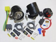 20W 2500LM Cree LED Light x2 KTM 1050 1190 1290 Adventure Kawasaki Versys KLR