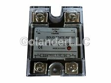 10A 3-32VDC to 5-220VDC Solid State Relay SSR  + Clear Cover
