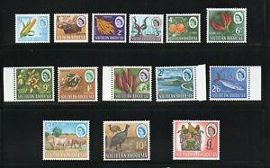 SOUTHERN RHODESIA SG 92-105 1964 Q E II DEFINITIVE SET MNH