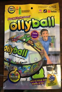 Ollyball ECO PAK Ultimate Indoor Play Ball for Kids + Parents Color On Ball NEW