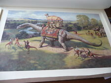"James Gurney ""The Excursian "" S/N  Limited Edition Lithograph"