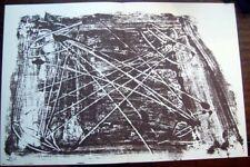 ANTONI TAPIES -  Litografia original DLM nº 210 .  enero 1974