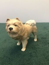 More details for chow chow dog figurine ornament, height approx 11 cm