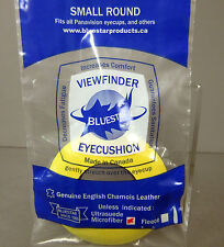 New Bluestar Small Round Microfiber YELLOW Eyepiece Eye Cushion Viewfinder