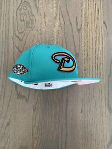 Exclusive New Era Arizona Diamondbacks MLB club hat Pink UV 7 1/8