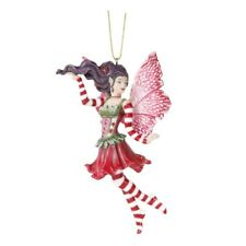 POINSETTIA FAIRY I Christmas Holiday Fairy Ornament Amy Brown faery faerie