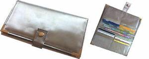 RFID blocking ladies cheque wallet