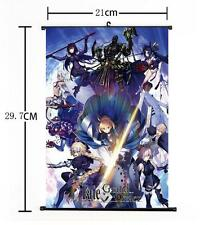 "Hot Japan Anime Game Fate Grand Order Poster Wall Scroll Home Decor 8""×12"" 13"