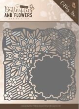 Jeanine's Art Classic Butterflies and Flowers, Flower Frame Cutting Die