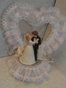 Vintage late 79 to early 80's Wedding Cake  Topper