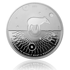 Silber Tapir 2016 Proof 1 oz .9999 Silver | Wonderful World 02 Bullion - Coin PP