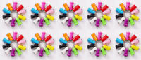 Lot 100 x Color Mini USB Car Charger Adapter For LG Samsung iPhone 6 5S 5 4S 4 X