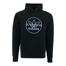 Adidas Men's Trefoil Circle Performance Pullover Hoodie NEW Size LARGE