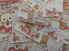 San-X RILAKKUMA La Fraise Paris Stationery Set Letter Envelope deal paper bear