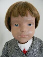 "Antique wooden 21"" Schoenhut boy doll"