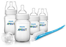 Philips Avent Classic Newborn Starter Set Blue Anti Colic Sister