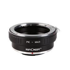 K&f Concept Pk-m4/3 Pentax PK Lens to Micro 4/3 M43 Mount Adapter Ring Gf6 Gh3