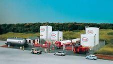 PIKO HO SCALE 1/87 ESSO TANK FARM COMPLEX BUILDING KIT | BN | 61141