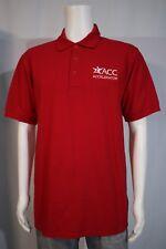 Men's MEDIUM Austin Community College ACC Career Services Accelerator Polo Shirt