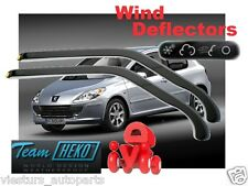Wind deflectors PEUGEOT 307  2001 - 2008  3.doors  2.pc  HEKO 26117