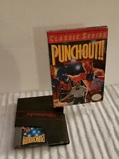 PUNCH OUT NEW NINTENDO GAME IN BOX GOOD CONDITION