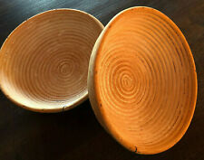 Artisan Wood Proofing Dough Baskets 9 inch wide 3 inch deep 2 pc Banneton #4