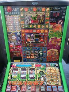 FRUIT MACHINE - TOASTBUSTERS - £100 JACKPOT - NEW £1 READY
