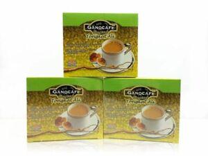 GANO EXCEL - GanoCafe Ginseng Ganoderma Coffee 3 Box ( 15 Sac Each )