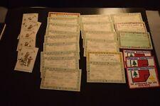 1928 1929 1930 Boy Scout Merit Badges Certificates, Rank cards Membership cards