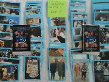 doctor who  lot F strictly definitive cards series 1