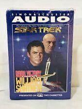 STAR TREK ' Dark Victory ' by William Shatner - Audiobook SEALED, Never Opened
