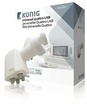 Konig Universal quattro LNB 0.2 dB for multiswitch