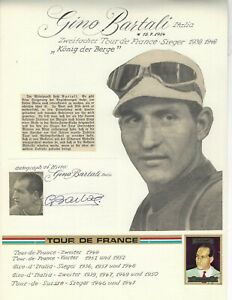 Gino Bartali - +2000 - Italien - Rad Cycling Tour de France Sieger 1938 u. 1948