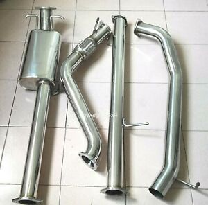 """3"""" S/S  Exhaust System turbo back for Ford Ranger PX 3.2L 2011-2016"""