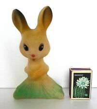 1960's Vintage Ussr Russian Soviet Rubber Toy Hare