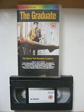 Spectrum.THE GRADUATE VHS VIDEO. EAN: 5018983002121. Cert.15. Hoffman, Bancroft.