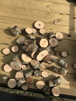 Red Oak Wood Chunks/Slices for BBQ/Grilling/Wood Smoking!!!