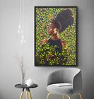Kehinde Wiley Shantavia Beale II Wall Art Painting Poster Print 36x24 inches