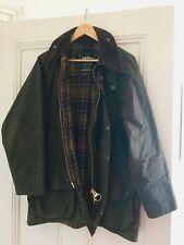 Authentic Barbour Men's Beaufort Wax Jacket Olive Green Size 40 Large/102cm