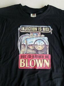 """Vintage Drag Racing """"Injection is nice Blown T Shirt"""