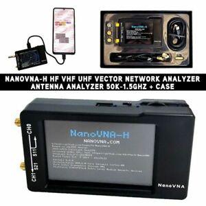 Upgraded 50KHz-900MHz NanoVNA Vector Network Analyzer F/MF HF VHF Phone Display